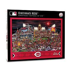 Cincinnati Reds Find Joe Journeyman Search Puzzle