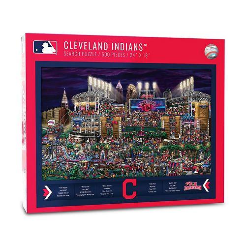 Cleveland Indians Find Joe Journeyman Search Puzzle