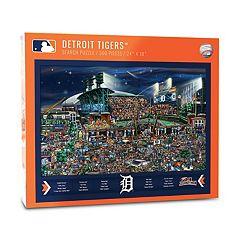 Detroit Tigers Find Joe Journeyman Search Puzzle