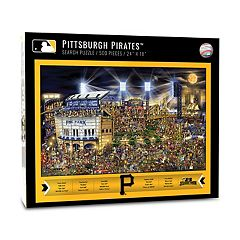 Pittsburgh Pirates Find Joe Journeyman Search Puzzle
