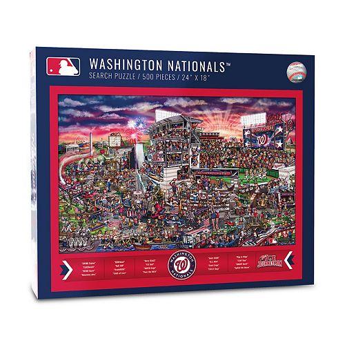 Washington Nationals Find Joe Journeyman Search Puzzle