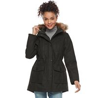 Juniors' Urban Republic Faux-Wool Anorak Jacket