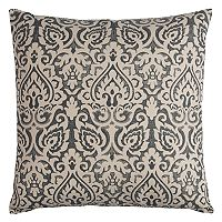 Rizzy Home Damask Printed Throw Pillow