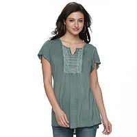 Women's World Unity Flutter Tee