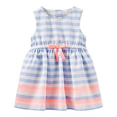 Baby Girl OshKosh B'gosh® Sleeveless Striped Dress