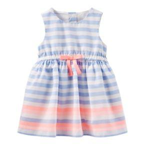 Baby Girl OshKosh B'gosh® Sleeveless Striped Dress