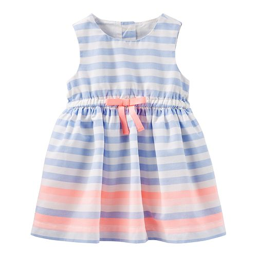 e8fda441446b Baby Girl OshKosh B gosh® Sleeveless Striped Dress