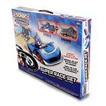 NKOK Sonic The Hedgehog (Sonic & Shadow) Remote Control Car Race Track