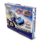 NKOK Sonic The Hedgehog (Sonic & Shadow) Remote Control Car Race Track
