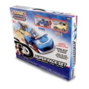NKOK Sonic The Hedgehog (Sonic & Tails) Remote Control Car Race Track