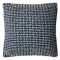 Rizzy Home Textured Stripe Woven Throw Pillow
