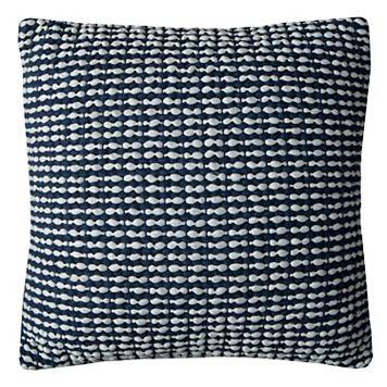 Rizzy Home Textured Stripe Woven Throw Pillow