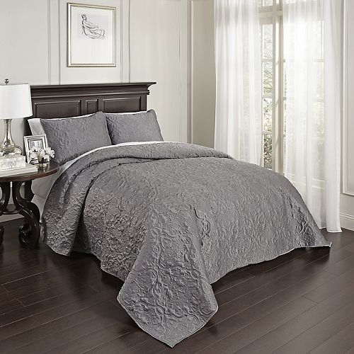 Beautyrest 3-piece Valentre Coverlet Set