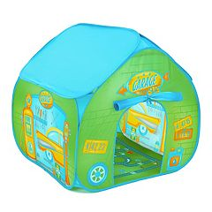 Fun2Give Pop-It-Up Garage Retro Play Tent with Mat