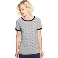 Women's Champion Heritage Ringer Allover Graphic Tee
