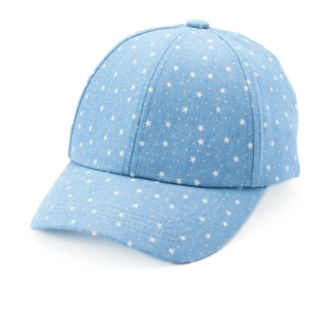 Women's Chaps Starry Print Baseball Cap