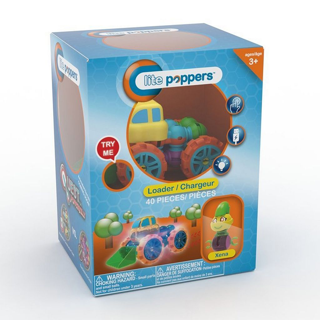 Lite Poppers STEM Learning Build-A-Loader Kit