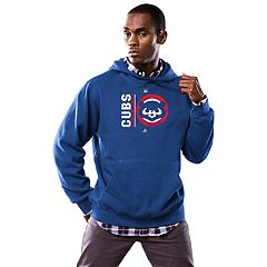 Men's Majestic Chicago Cubs Cooperstown Hoodie