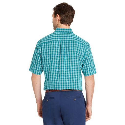 Men's Arrow Hamilton Classic-Fit Wrinkle-Free Poplin Button-Down Shirt