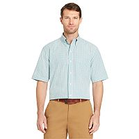 Men's Arrow Hamilton Classic-Fit Wrinkle-Free Poplin Button-Down Shirt