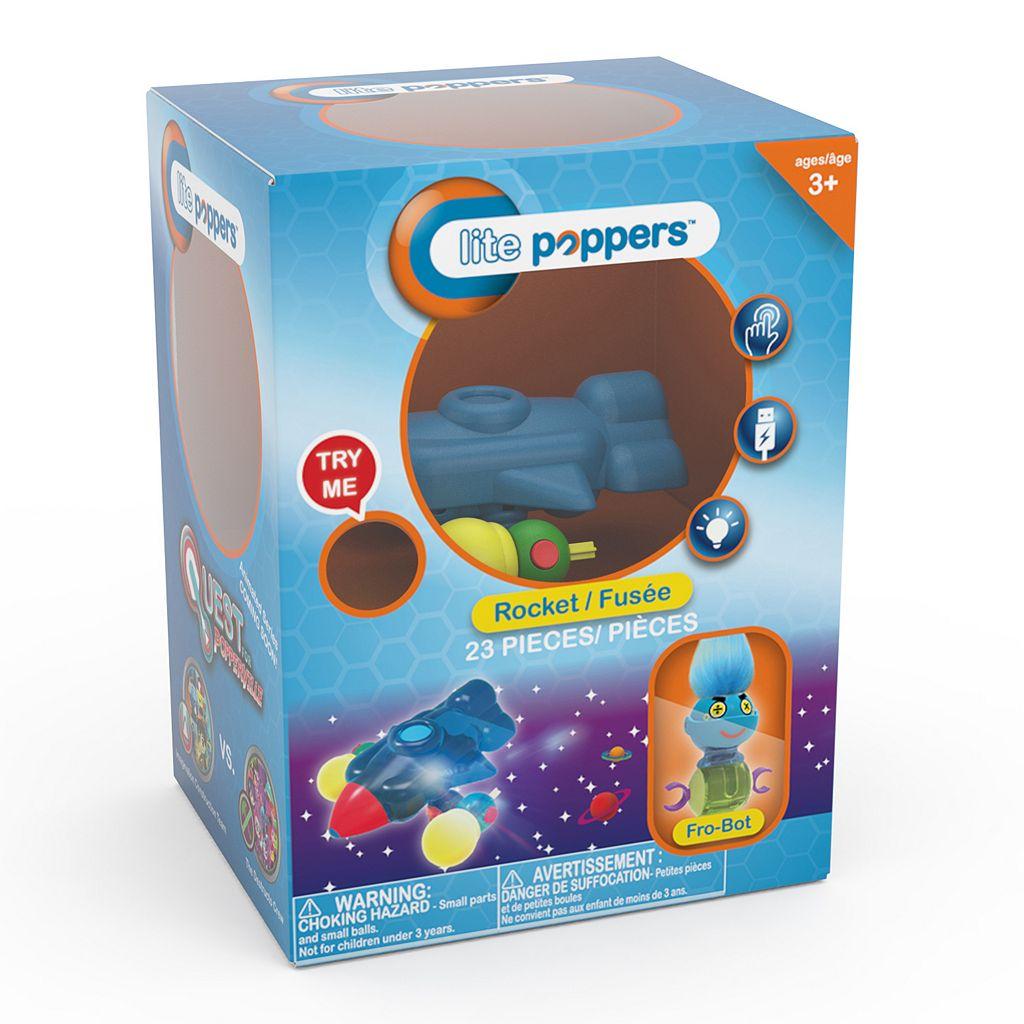 Lite Poppers STEM Learning Build-A-Rocket Kit