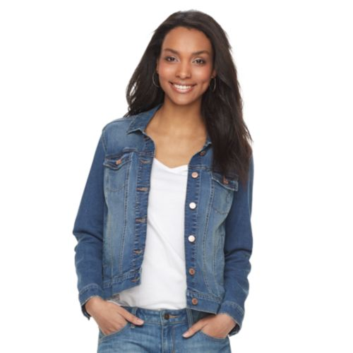 Petite Sonoma Goods For Life Denim Jacket