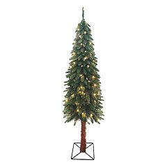 Northlight 6-ft. Pre-Lit Two-Tone Alpine Artificial Christmas Tree
