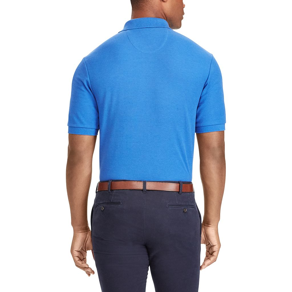 Big & Tall Chaps Classic-Fit Mesh Polo