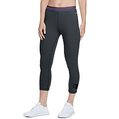 Women's Champion Authentic Black Capri Leggings