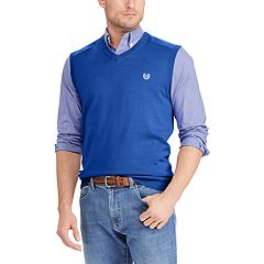 Big & Tall Chaps Classic-Fit Sweater Vest