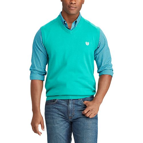 Big & Tall Chaps Classic-Fit Sweater Vest