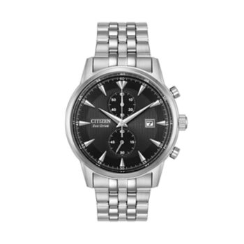 Citizen Eco-Drive Men's Corso Stainless Steel Chronograph Watch - CA7000-55E