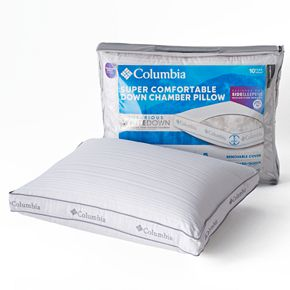 Columbia Medium / Firm Side Sleeper Down Chamber Pillow