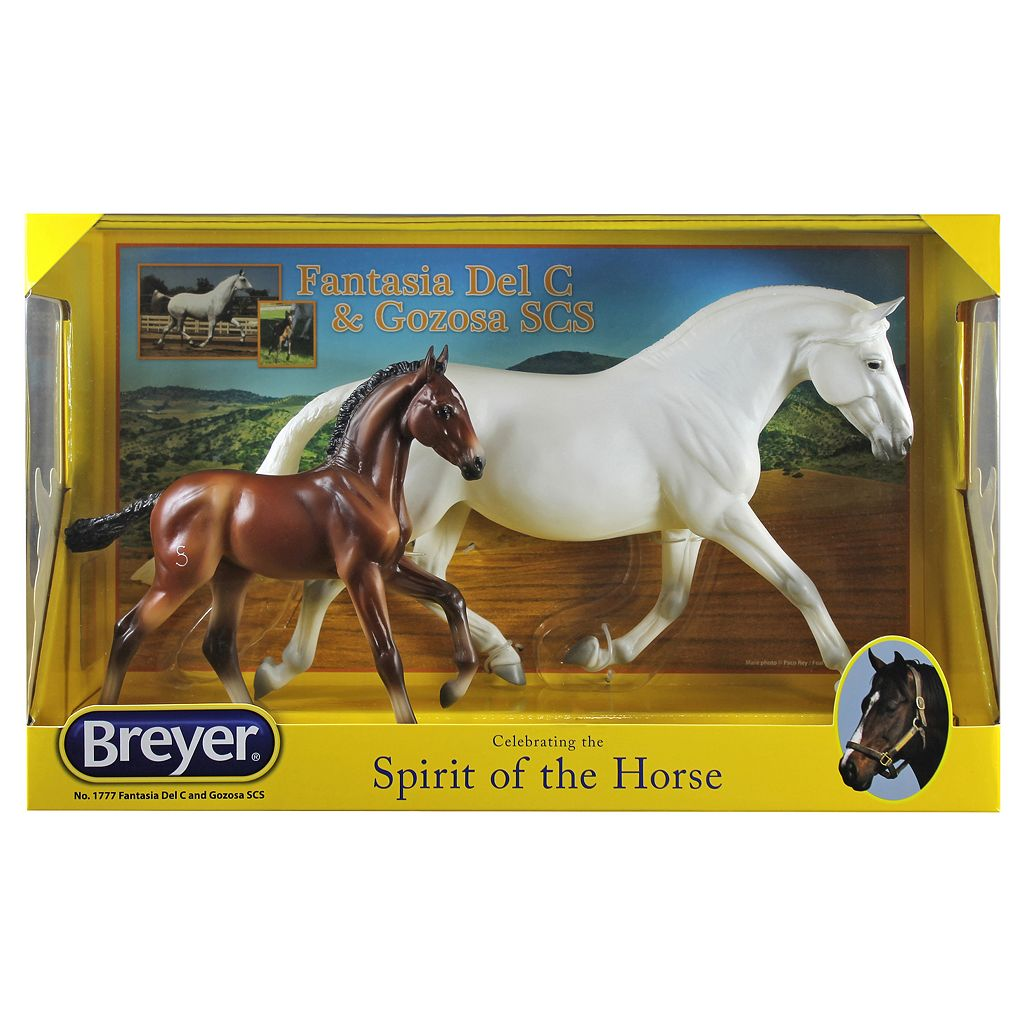 Breyer Traditional Series Fantasia Del C and Gozosa SCS Horse Set