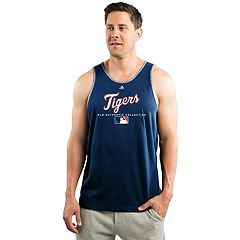 Men's Majestic Detroit Tigers Authentic Tank Top