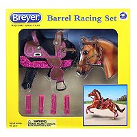 Breyer Traditional Series Barrel Racing Set