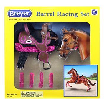 Breyer Traditional Series Barrel Racing Set