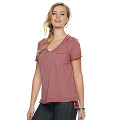 Women's Rock & Republic® V-Neck Boyfriend Tee