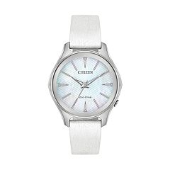 Citizen Eco-Drive Women's Modena Citizen Leather Watch - EM0598-01D