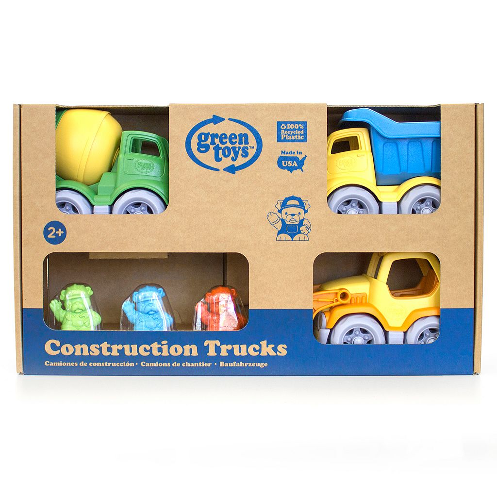 Green Toys 3-pk. Construction Vehicle Set