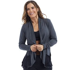 Women's Balance Collection Estella Waterfall Wrap Cardigan