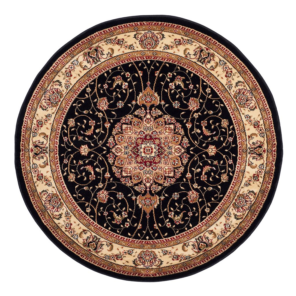 Safavieh Lyndhurst Persian Medallion Framed Floral Rug