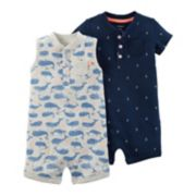 Baby Boy Carter's 2-pk. Nautical Rompers