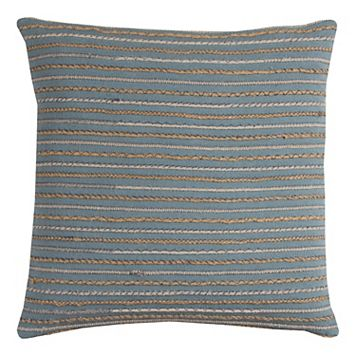 Rizzy Home Textured Striped Corded Throw Pillow