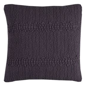 Rizzy Home Sheered Textured Gathered Throw Pillow