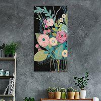 Artissimo Designs Soft Spring Bouquet II Canvas Wall Art