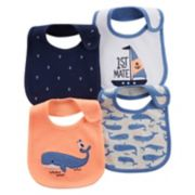 Baby Boy Carter's 4-pk. Nautical Bibs