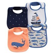Baby Boy Carter's 4 pkNautical Bibs