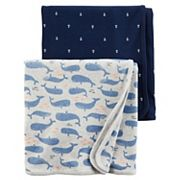 Baby Boy Carter's 2 pkNautical Swaddles