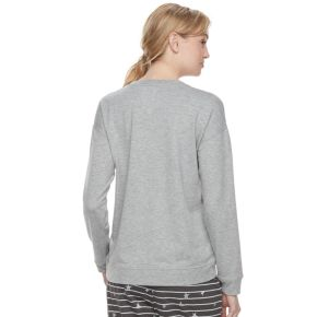 Women's SONOMA Goods for Life? Pajamas: Lace-up Sweatshirt
